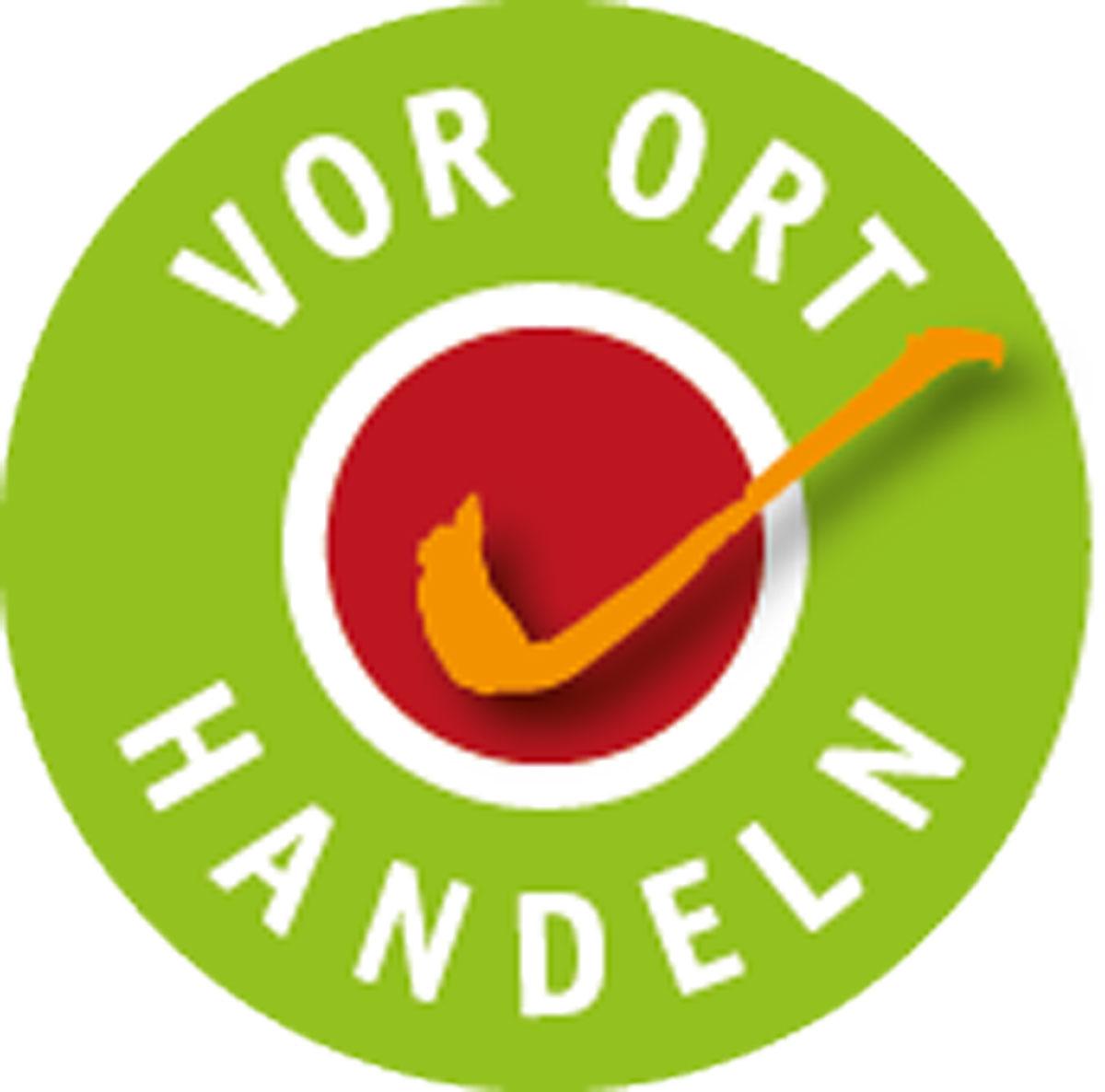 Logo vor Ort
